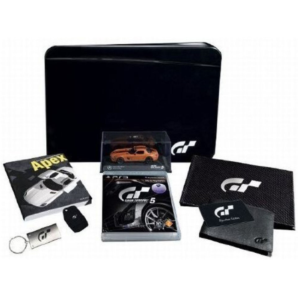 gran turismo 5 signature edition ps3 zavvi. Black Bedroom Furniture Sets. Home Design Ideas