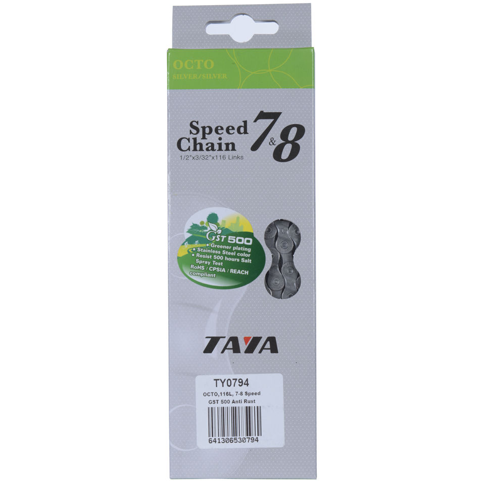 Taya Octo 116L 7/8 Speed Bicycle Chain GST-500 - Anti Rust | Chains
