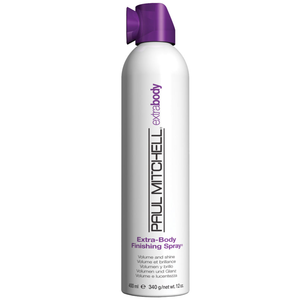 paul mitchell extra body finishing spray 300ml free shipping reviews lookfantastic. Black Bedroom Furniture Sets. Home Design Ideas