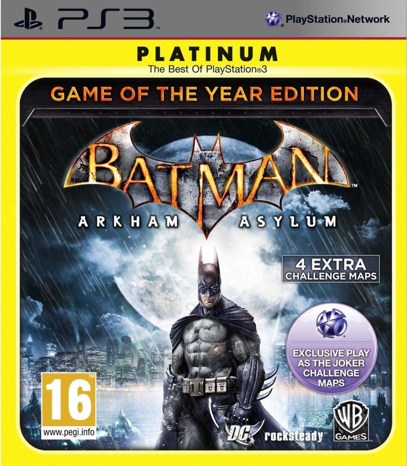 Edition Platinum: Batman: Arkham Asylum Game Of The Year Edition