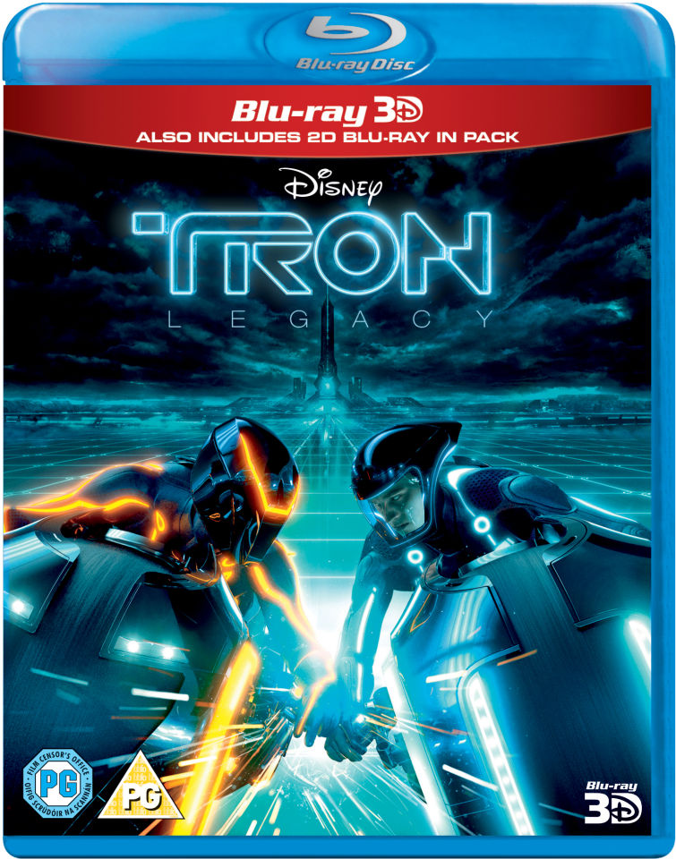 tron legacy 3d includes 2d version blu ray zavvi. Black Bedroom Furniture Sets. Home Design Ideas