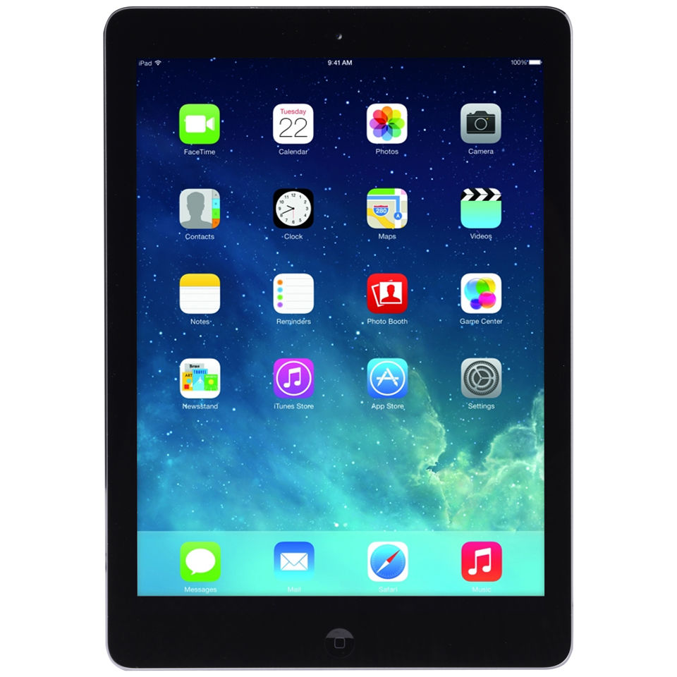 Ipad Air Wi Fi 16gb Space Grey Iwoot
