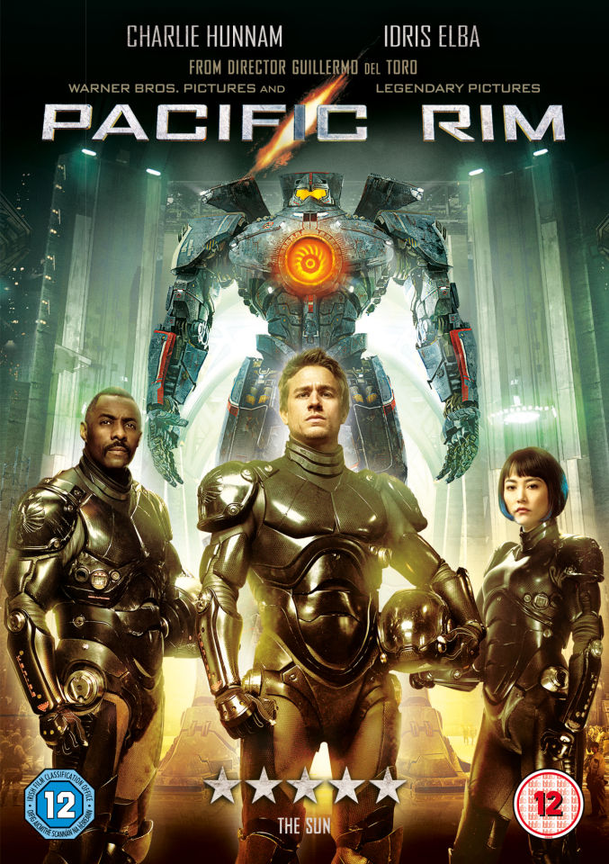 Pacific Rim Includes Ultraviolet Copy Dvd Zavvi