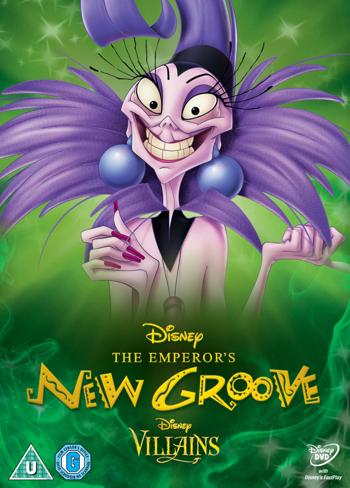 Emperors New Groove Disney Villains Limited Artwork
