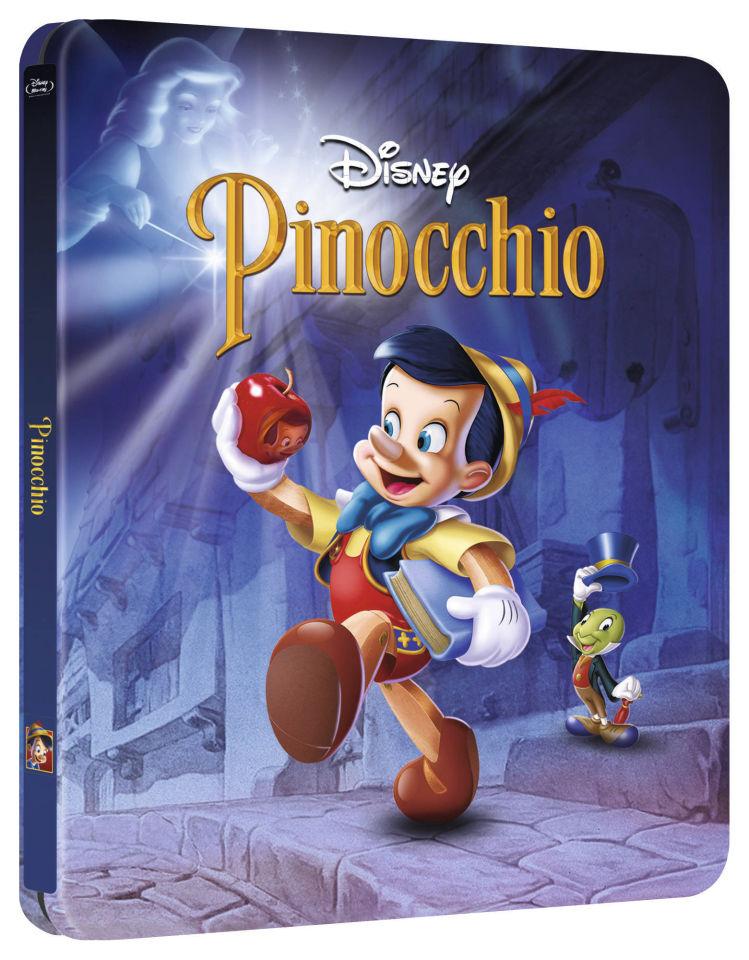 Pinocchio Zavvi Exclusive Limited Edition Steelbook (The