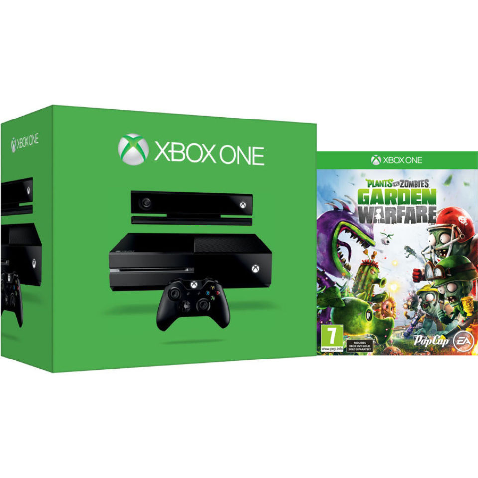 Xbox one new console includes plants vs zombies garden - Plants vs zombies garden warfare xbox one ...