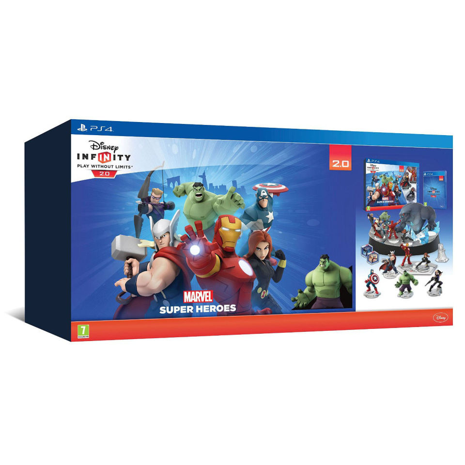 Disney Infinity 2.0 Collectors Edition - Avengers Starter ...