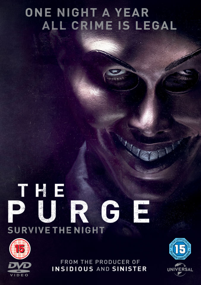 The Purge Dvd Zavvi
