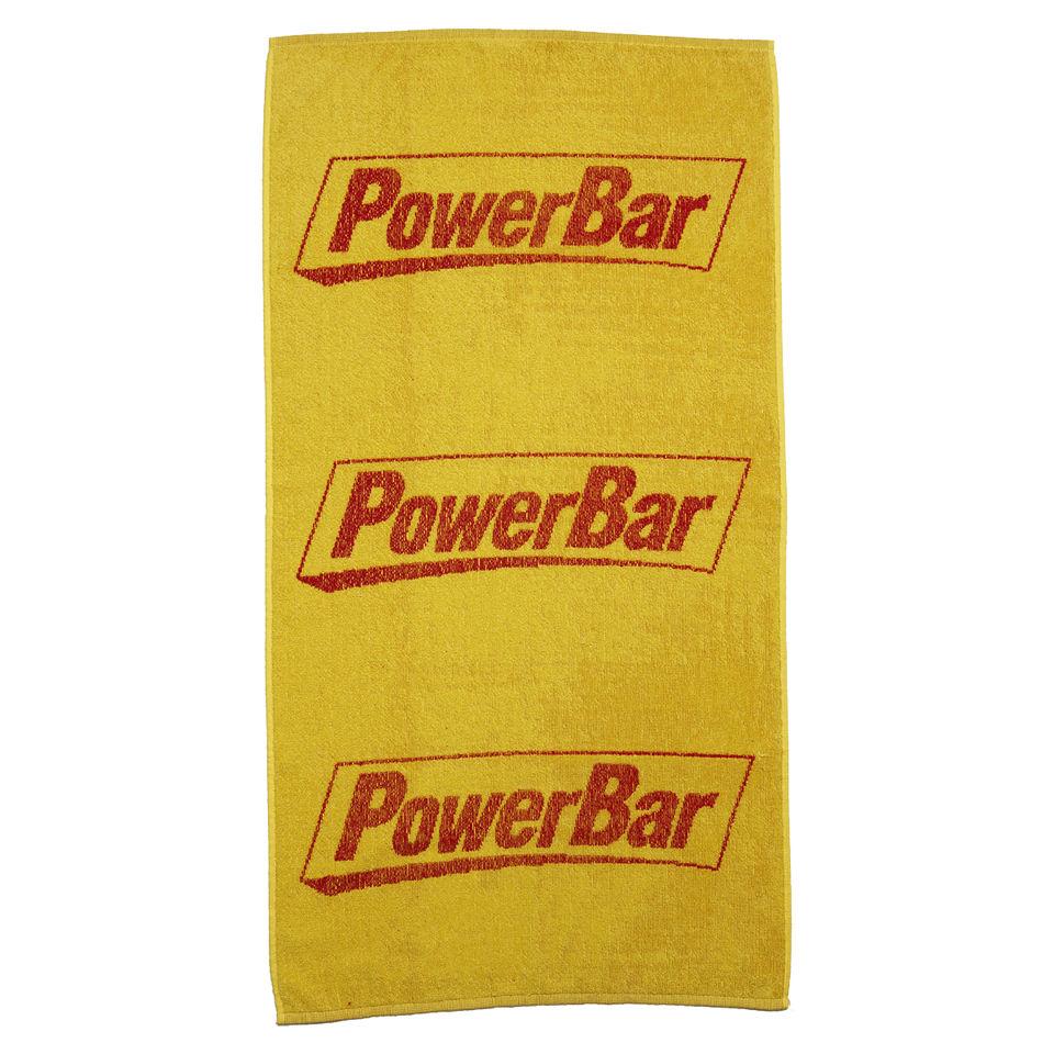 Orange Sweat Towels: Powerbar Large Sweat Towel - Yellow