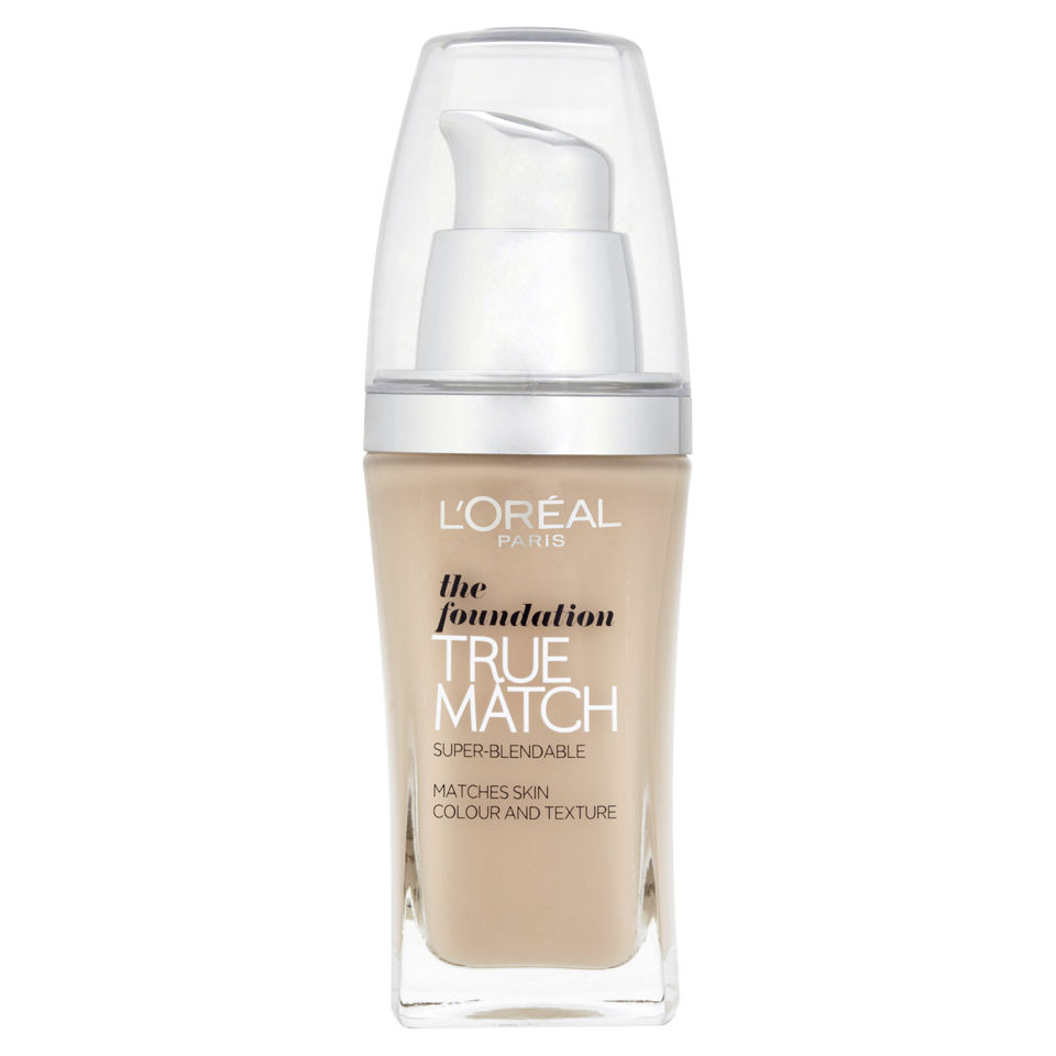 L'Oreal Paris True Match The Foundation SPF 17 (Various Shades)
