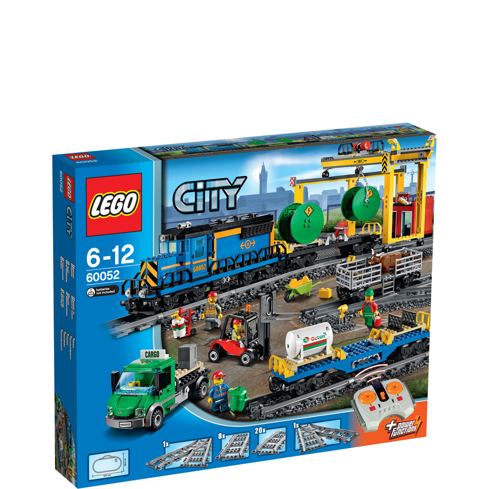 Lego City Toys : Lego city trains cargo train toys zavvi