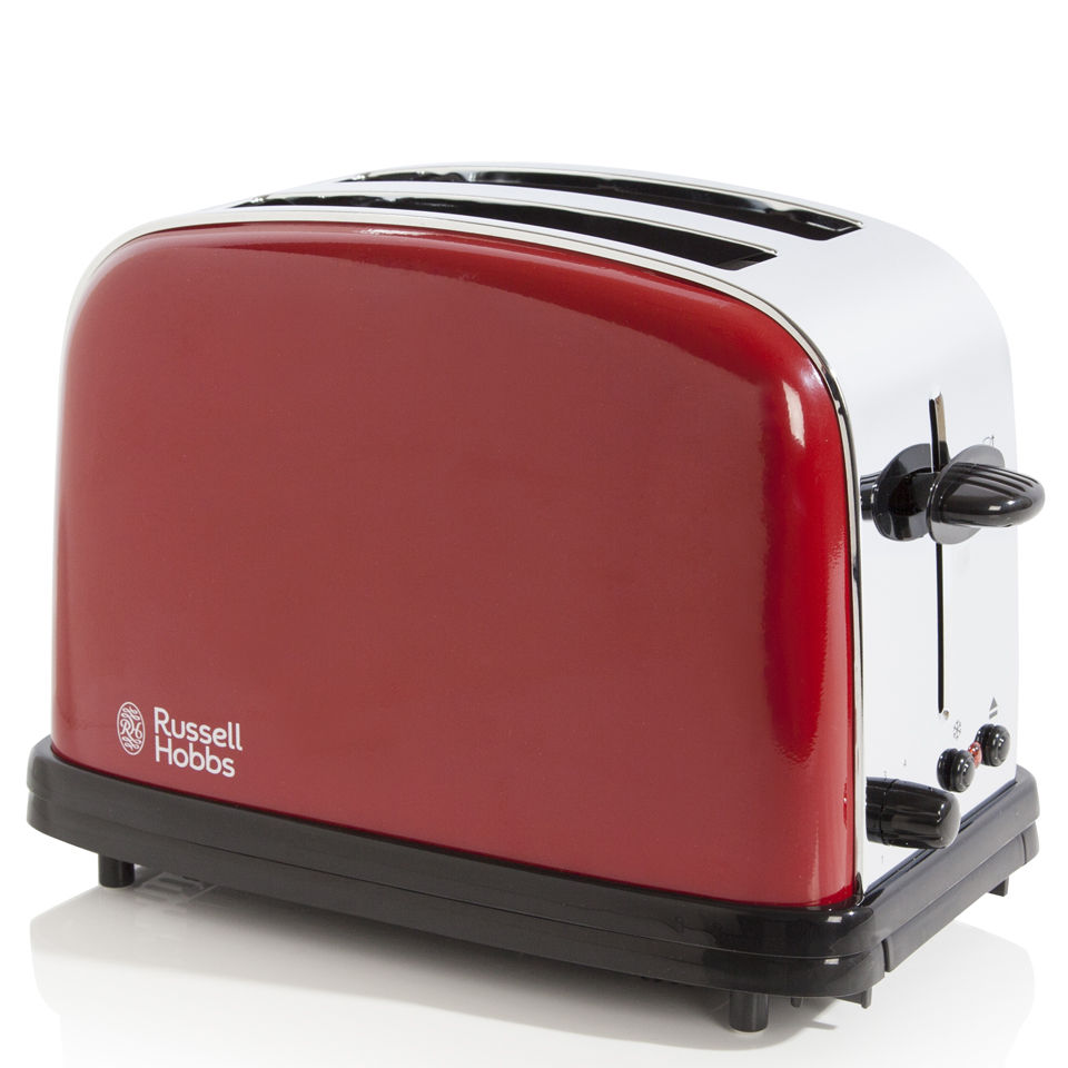 russell hobbs 2 slice toaster flame red iwoot. Black Bedroom Furniture Sets. Home Design Ideas