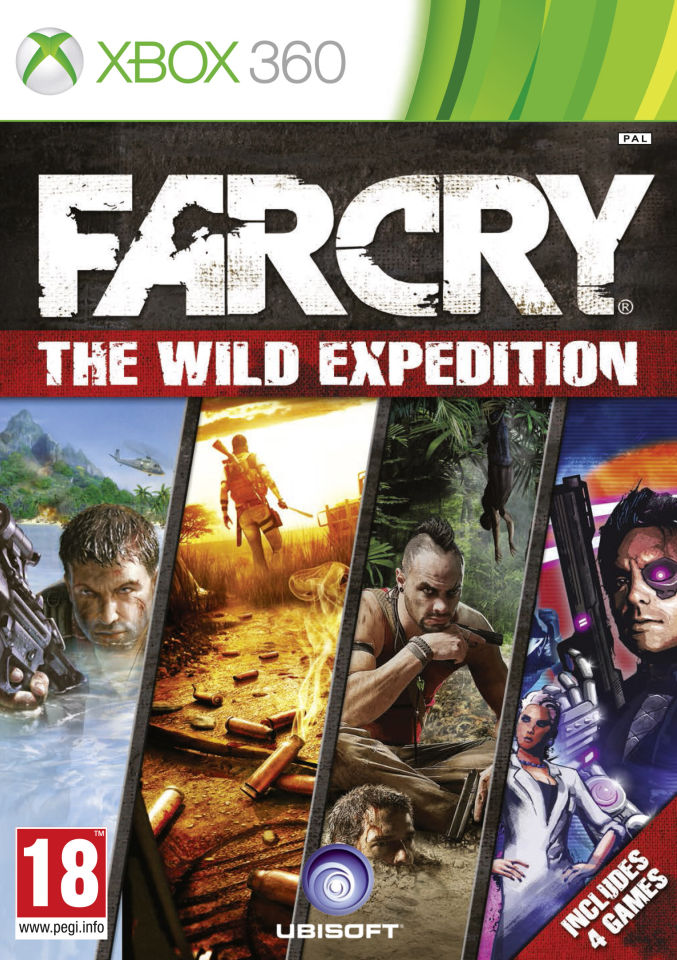 Far Cry The Wild Expedition Xbox 360 Zavvi