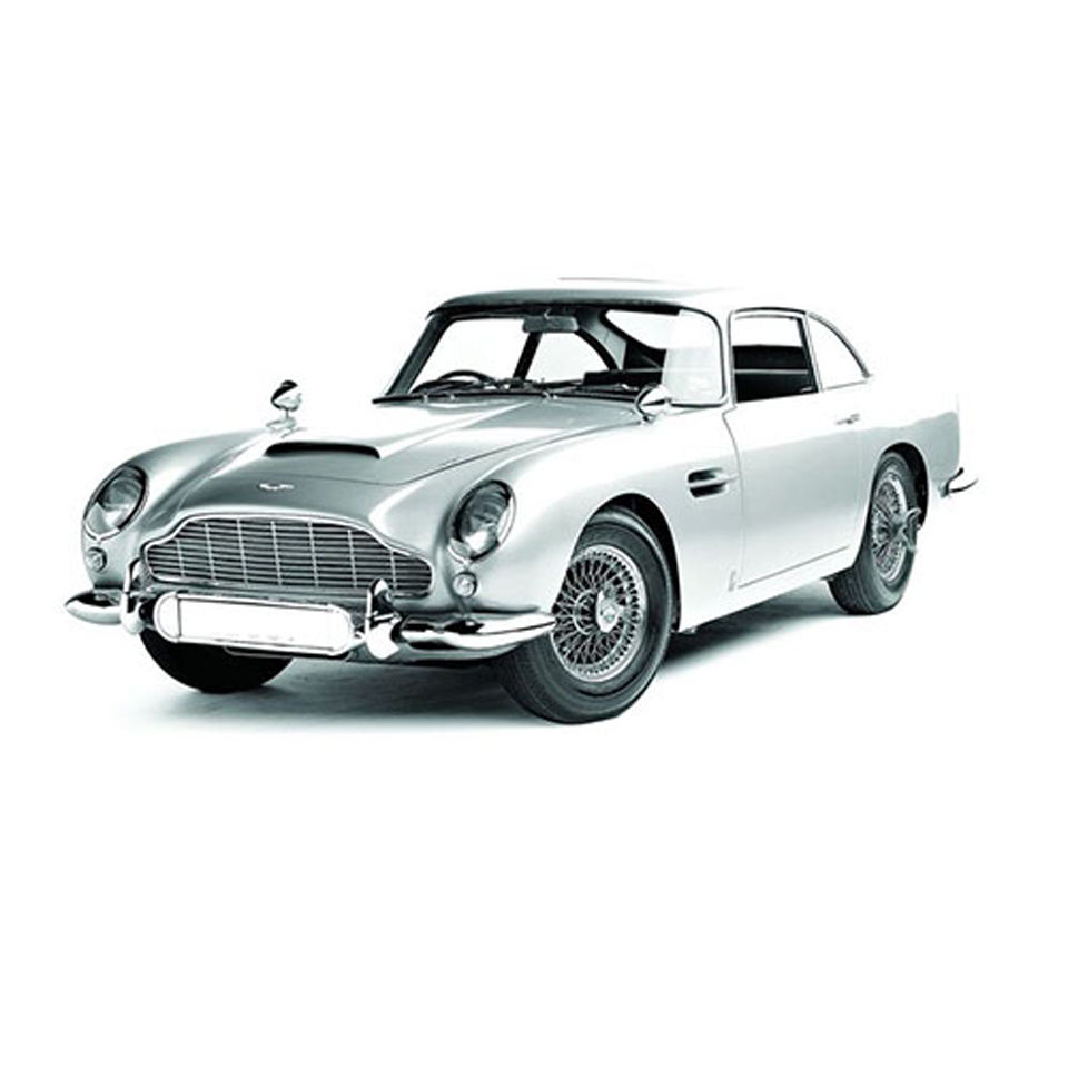 Hot Wheels Elite James Bonds Aston Martin BD5 From