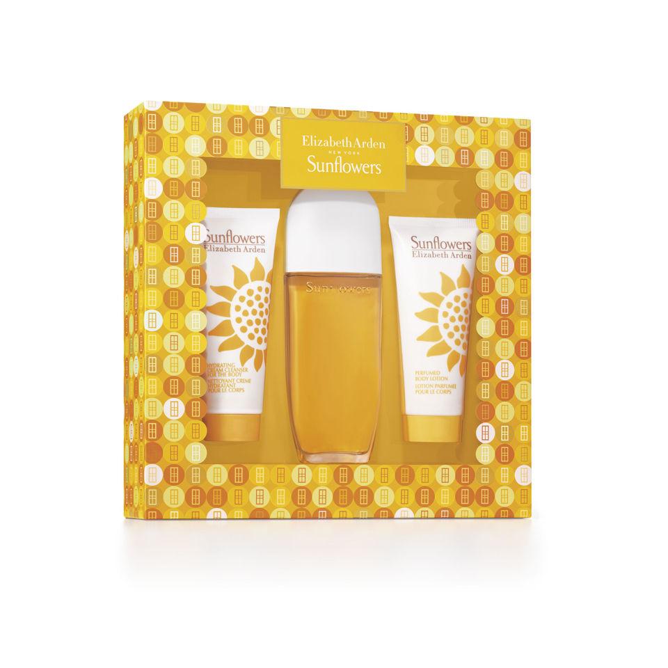 Elizabeth Arden Sunflowers Gift Set 100ml Perfume