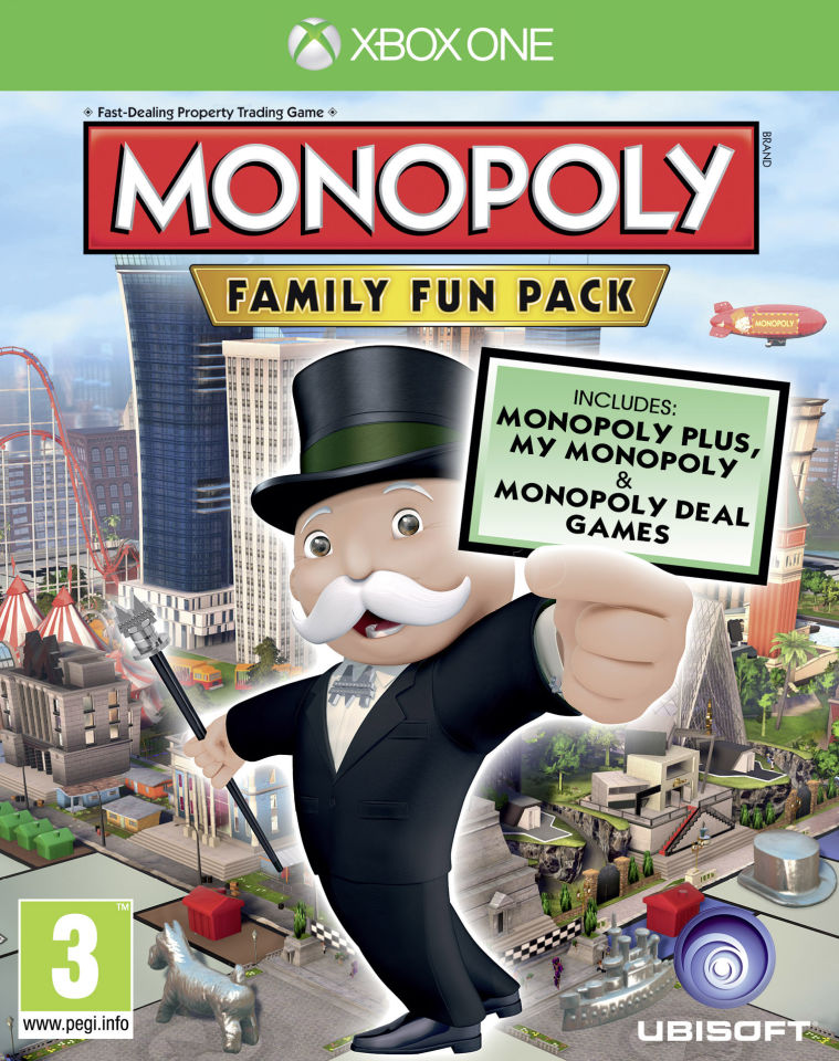 Monopoly Game For Xbox 1 : Monopoly family fun pack xbox one zavvi