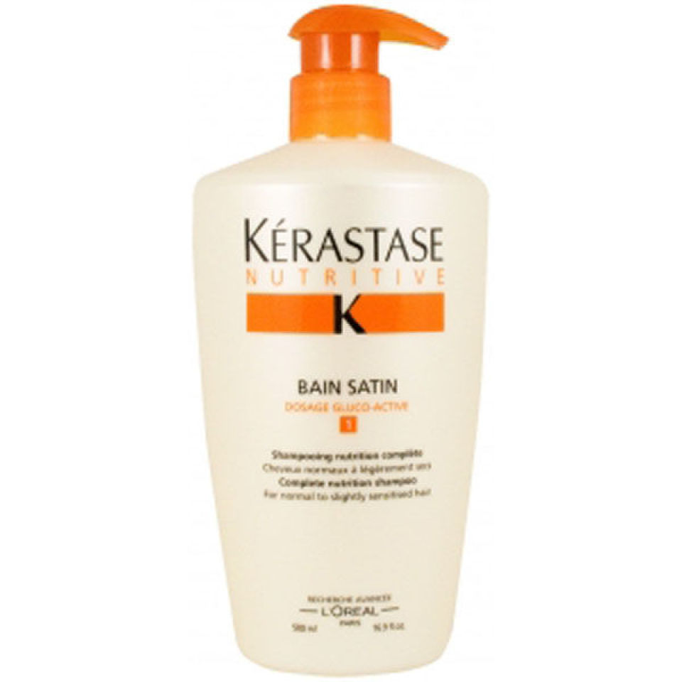 K rastase nutritive bain satin 1 500ml hq hair for Kerastase bain miroir conditioner