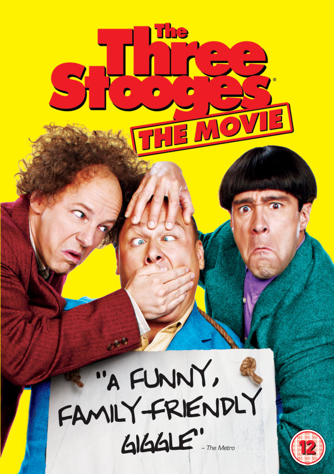 The Three Stooges Dvd Zavvi