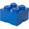 LEGO Storage Brick 4 - Blue: Image 1