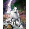 Bob Langrish Waterfall - Mini Poster - 40 x 50cm: Image 1