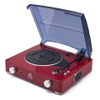 GPO Retro Stylo Turntable (3 Speed) with Built-In Speakers - Red: Image 1