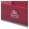 GPO Retro Stylo Turntable (3 Speed) with Built-In Speakers - Red: Image 5