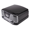 GPO Retro Memphis Turntable 4-in-1 Music System with Built in CD and FM Radio - Black: Image 3