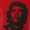 Che Guevara Men's T-Shirt - Red Face: Image 3