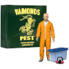 Breaking Bad Jessee Pinkman Orange Hazmat Suit EE Exclusive 6 Inch Action Figure: Image 1