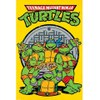Teenage Mutant Ninja Turtles Retro - 24 x 36 Inches Maxi Poster: Image 1
