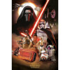 Star Wars: The Force Awakens Montage - 24 x 36 Inches Maxi Poster: Image 1