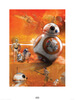 Star Wars The Force Awakens BB-8 Print: Image 1
