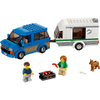 LEGO City: Van and Caravan (60117): Image 2