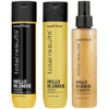 Matrix Total Results Hello Blondie Shampoo (300ml), Conditioner (300ml) och Illuminator (125ml): Image 1