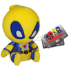 Mopeez Marvel Yellow Deadpool Figure: Image 1