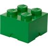 LEGO Storage Brick 4 - Dark Green: Image 1