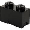 LEGO Storage Brick 2- Black: Image 1