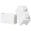 LEGO Storage Brick 2- White: Image 2