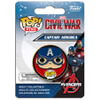 Captain America: Civil War Captain America Pop! Pin: Image 1