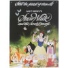 Disney Film Posters Snow White Large Tin Sign: Image 1