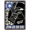Star Wars Empire Large Tin Sign (29.7cm x 42cm): Image 1