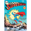 DC Comics Superman Zap Large Tin Sign (29.7cm x 42cm): Image 1