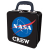 NASA Crew Embossed Tin Tote Box - Black: Image 1