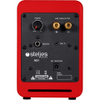Steljes Audio NS1 Bluetooth Duo Speakers - Vermilion Red: Image 4