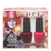 OPI Alice In Wonderland Nail Varnish Collection - Mad Hatter Duo Pack 2 x 15ml: Image 1