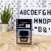 A4 Cinematic Lightbox Letters Pack - Graffiti: Image 1
