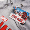Marvel Men's Captain America Civil War Logo Hoody - Grey: Image 3