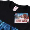 Marvel Men's Captain America Civil War A-Wings T-Shirt - Black: Image 3