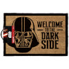 Star Wars 'Welcome To The Dark Side' Doormat - Black (40 x 60cm): Image 1