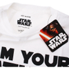 Star Wars Men's Father Lightsaber T-Shirt - White: Image 3